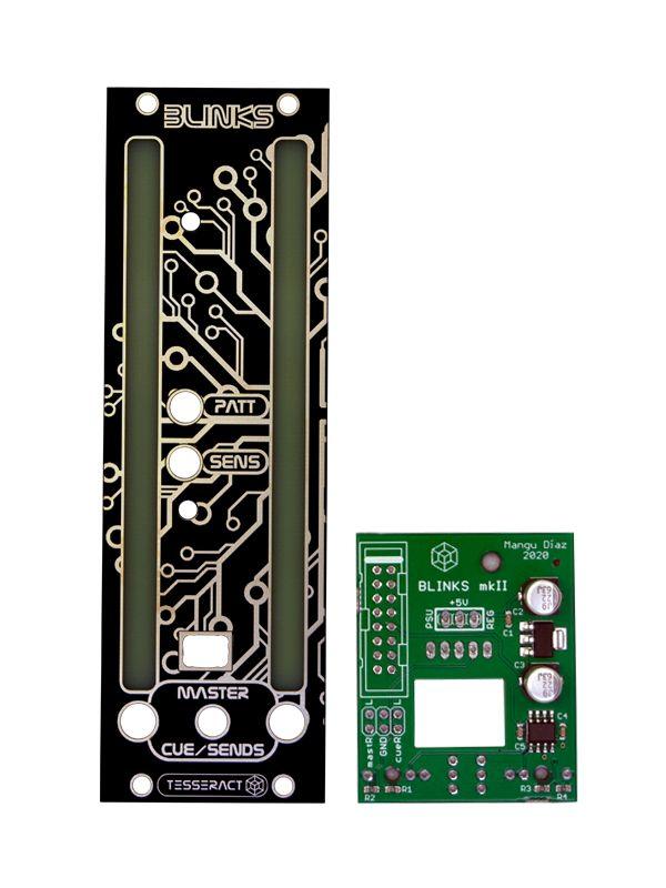 Blinks PCB/Panel   Tesseract Modular