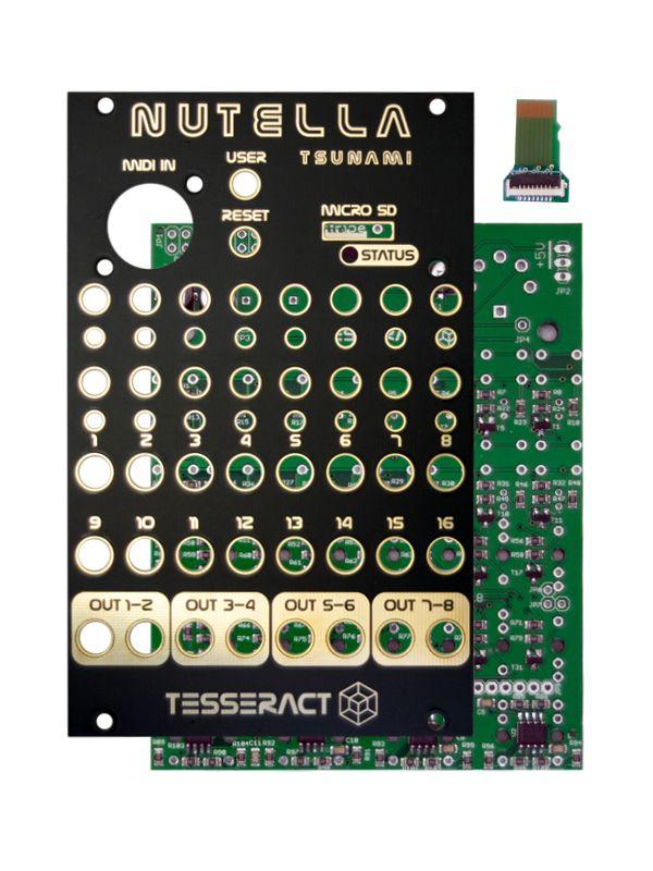 Nutella Tsunami PCB/Panel | Tesseract Modular