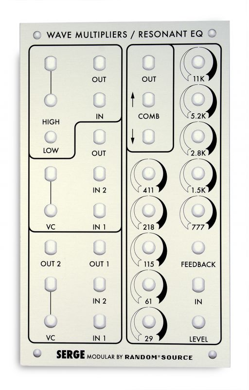 4U Serge - Wave Multipliers / Res EQ PCB / Panel | RandomSource
