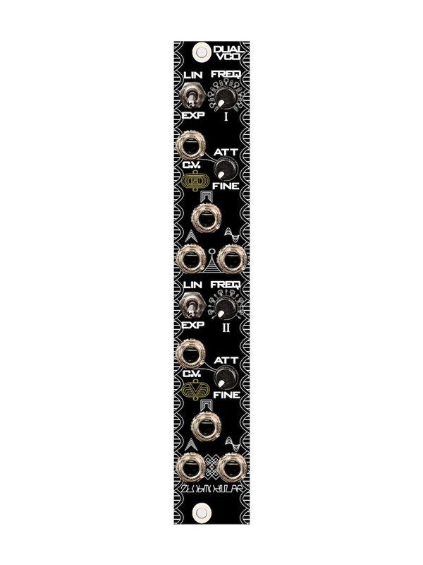 Dual VCO - Full DIY Kit   Zlob Modular